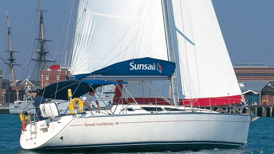 Sun Odyssey 40 - 3 cabin
