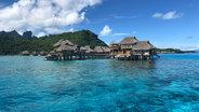 Tahiti Hotel over water