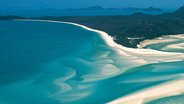 Hill Inlet in Whitehaven Bay, Australia