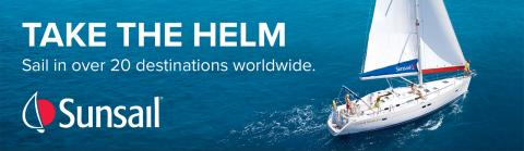 Take the helm sailing holidays banner